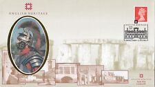 (00111) GB BENHAM ENGLISH Heritage Copertura Kirby Hall Deene CORBY 11 AGOSTO 2001