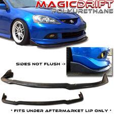02 03 04 05 06 Acura RSX Front Bumper Add-on Winglet Diffuser Splitter Lip