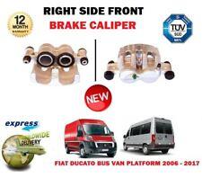 pour Fiat Ducato utilitaire Bus Pick-up 2006-2017 NEUF AVANT DROIT Étrier Frein