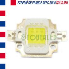 LED COB HIGH POWER CARREE 10W 800 LUMENS BLANC FROID ENVOI DE FRANCE AVEC SUIVI
