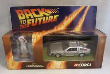 Corgi Back to the Future Delorean Time Machine with Figure