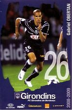 Gabriel OBERTAN *** Carte Postale *** Girondins de Bordeaux *** 2008/2009