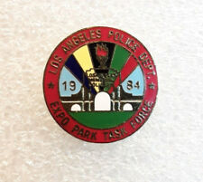 1984 LOS ANGELES Olympic Games POLICE DEPT EXPO PARK TASK FORCE Olympic Pin EUC