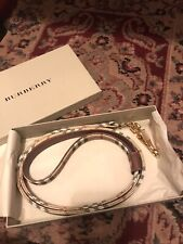 Burberry Authentic Dog Leash  NWOT