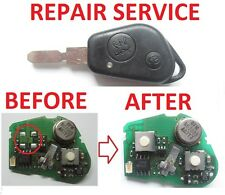 PEUGEOT 206 306 106 607 105 405 406 REPAIR SERVICE FOR SWITCH FOR REMOTE KEY FOB