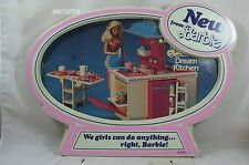 """Barbie shop store display """"new from Barbie"""" stock 9904-3 hard to find!"""