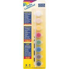 Delta Paints Basic Colors 8 Acrylic Paints, New