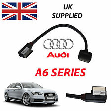 Audi A6 Avant 2014 Ami Mmi 4F0051510R Iphone Ipod Cavo Audio Video