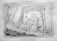 TOWER OF  LONDON HER MAJESTY'S ROYAL PALACE AND FORTRESS 1842 LA TOUR DE LONDRES