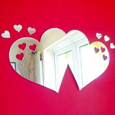 Hearts out of Joine Hearts Acrylic Mirror (Several Sizes Available)