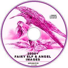 FAIRY ELF & ANGELS 2000 DECOUPAGE FANTASY IMAGES ALPHABET NUMBER VICTORIAN ETC