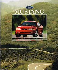 1996 Ford MUSTANG Sales Brochure/Pamphlet/Flyer:GT,'96