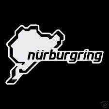 Nurburgring NEW Design Decal Stickers Rally Old Vintage