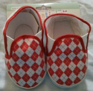 Booties Shoes Boy Size 6 Months-12 Months Slip On Kidentials Baby Infants