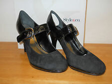 Style & Co New Womens Tammy Black Mary Janes Heels 9 M Shoes NWB