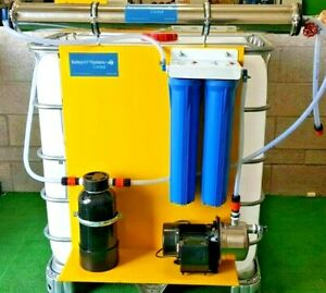 4040 STATIC RO SYSTEM WITH BOOSTER PUMP NO TANK.