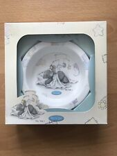 Tatty Teddy- me to you ceramic Baby Plate - New