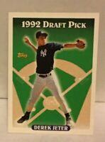 1993 Topps Derek Jeter ROOKIE CARD #98 New York Yankees HOF NMT-MNT