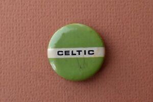 Vintage Celtic Tin Pin badge Old Scottish  Football League Club