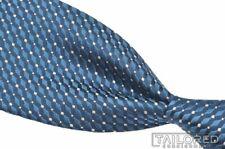 """CHARVET Blue White Polka Dot Woven 100% Silk Mens Luxury Tie - 3.50"""""""