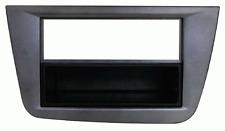 Mascherina con foro ISO-Doppio ISO- Doppio DIN colore Grigio Seat Altea >11 - T