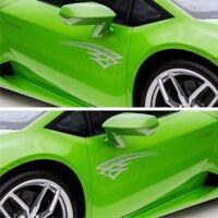 2x Racing Tribal 60cm Seitenaufkleber Streifen Autoaufkleber Tuning Karos S57