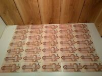 Canadian circulated $2.00 banknotes LOT of 35 fair, good, very fine $70.00 face