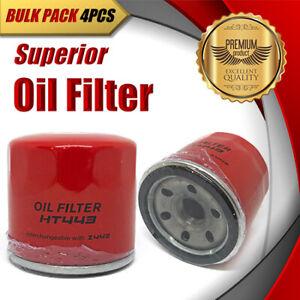 4 x Oil Filter Z443 / WZ443 Fits DAEWOO Matiz 0.8 DAIHATSU Charade SUZUKI Swift
