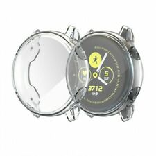 Clear TPU Full Cover Screen Protector Guard For Samsung Galaxy Watch Active cad6