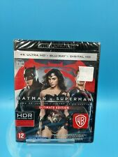 film neuf blu ray 4K ultra HD batman vs superman ultimate edition