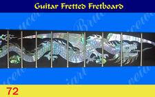 Guitar Part - Fretted Fretboard w/MOP Art Inlay (72-1)