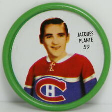 1962 – 1963 Shirrif Hockey Coin – #59 Jaques Plante – Montreal Canadiens