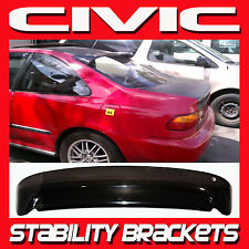 92 93 94 95 Civic EG Coupe Rear Visor Roof Spoiler Shade with Stability Brackets