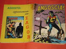 ZAGOR ZENITH- ORIGINALE- N°136 b -LIRE 200- (ZAGOR gigante N°85)-DEL 1972- raro