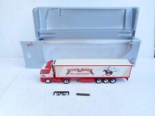 Herpa 1:87 HO   Scania  143 M /  500   Frank de Ridder Sattelzug  .OVP