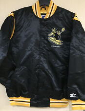 Pittsburgh Steelers Men's Starter Premium Satin Jacket by G-III - Throwback Logo