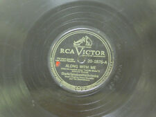 Charlie Spivak 78 Along With Me bw Spring Magic on RCA pop