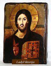 BIG Handmade ICON JESUS Christ The Lord Almighty / PANTOCRATOR/  Пантократор