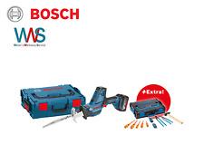 BOSCH Akku-Säbelsäge GSA 18V-LI C + 2x 5Ah-Akkupack, L-BOXX + Gedore-BOXX NEU!