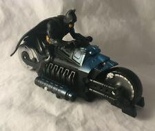 Batman Begins Rev N' Go Armored Speedbike Motorcycle Vehicle DC Comics Mattel