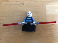 Lego Asajj Ventress 7676 Dark Blue Torso Star Wars Minifigure Mint Complete Sith