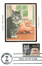 #2375 American Shorthair - Persian Cats Colorano Maxi Fdc (03919882375001)