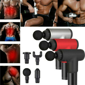 Massage Gun Percussion Booster Massager Muscle Vibration Relaxing Therapy