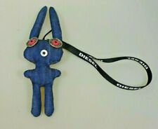 Diesel Jeans Denim Schlüssel Anhänger Figur Bunny Hase Schmuck Accessoire Gadget