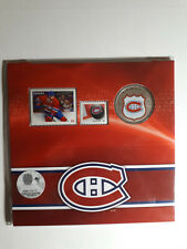 2014 Montreal Canadiens Limited Edition 25 cent coin & Stamps