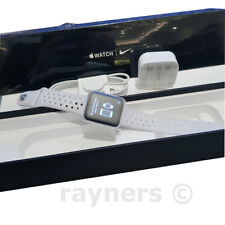 (New; Box Open) Apple Watch Nike+ (42mm) Series 2 Running Watch Aluminium White