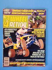 Vintage 3 & 4 Wheel Action Magazine May 1987 - Dirt Wheels - 3Wheeling