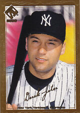 2000 Pacific Private Stock Derek Jeter GOLD Portraits /99  Last One Made!  Rare!