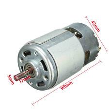 DC 12 V 150 W 13000 RPM Micro DC MOTOR 5 mm ALBERO MOTORE