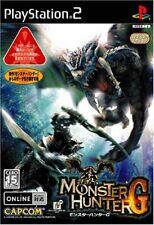 Monster Hunter G PS2 Capcom Sony PlayStation 2 From Japan